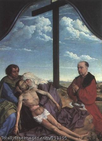 Pieta 1450; Oil on panel; Museo del Prado
