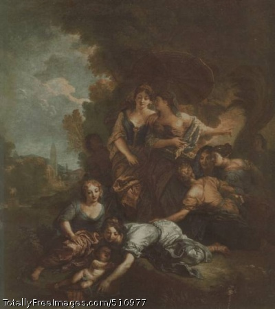 The Finding of Moses 1675-80; Louvre, Paris