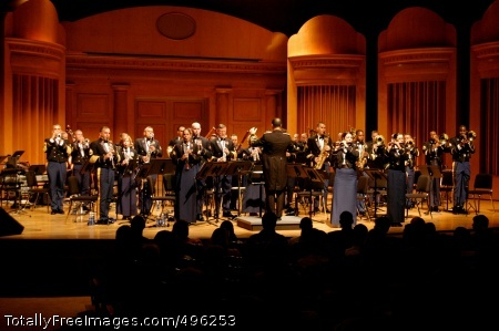 The Army Ground Ground Forces Band performs stellar concert at local college in Atlanta, GA Photo Credit: Oct 12, 2006