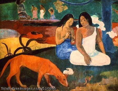 Arearea (Joyousness) 1892; Musée d'Orsay, Paris