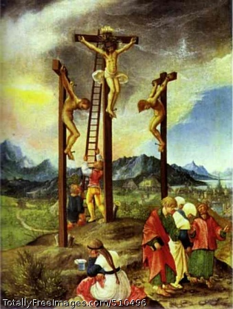 The Crucifixion c.1526; Oil on panel; Staatliche Museen, Gemäldegalerie, Berlin, Germany