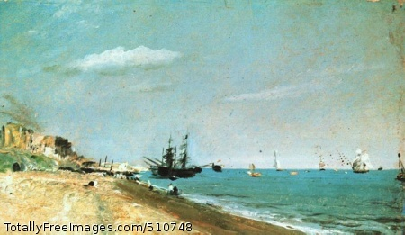 Brighton Beach (50 Kb); Victoria and Albert Museum, London