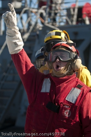 110711-N-EA192-087 PACIFIC OCEAN (July 11, 2011) Damage Controlman 3rd Class Jameson Talucci, from Syracuse, N.Y., passes orders to Sailors during a crash and smash drill aboard the guided-missile destroyer USS Fitzgerald (DDG 62). Fitzgerald is one of six Arleigh Burke-class guided-missile destroyers attached to Destroyer Squadron (DESRON) 15 and is currently participating in Exercise Talisman Sabre 2011. (U.S. Navy photo by Mass Communication Specialist 3rd Class Mikey Mulcare/Released)