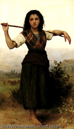The Shepherdess 1889 (50 Kb)