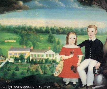 George and Emma Eastman Artist: Balis, Calvin, b. 1817, painter. Medium: Oil on canvas. Smithsonian Control Number: IAP 27710014