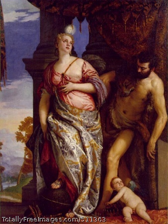 Allegory of Wisdom and Strength Paolo Veronese c. 1580; Oil on canvas, 214.6 x 167 cm; Frick Collection, New York