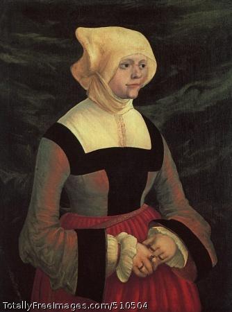 Portrait of a Young Woman Oil on wood; Thyssen-Bornemisza Collection, Lugano-Castagnola, Switzerland