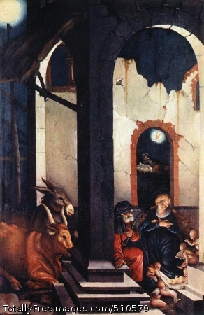 Nativity / The Birth of Jesus (same as above, different photograph)