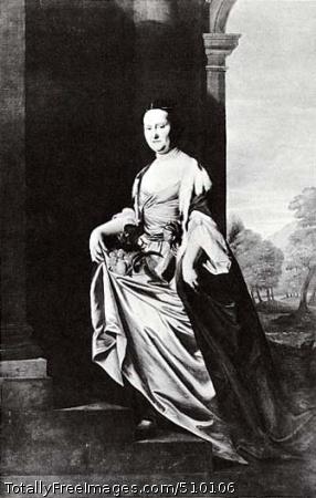 Mrs. Jeremiah Lee (Martha Swett) Artist: Copley, John Singleton, 1738-1815, painter. Medium: Oil on canvas. Smithsonian Control Number: IAP 06910037