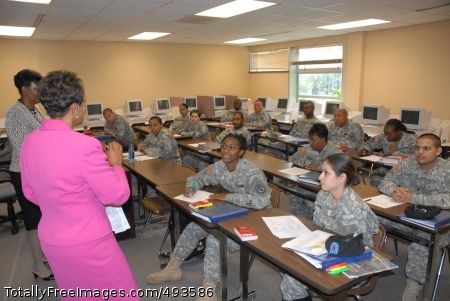 BSEP Helps Soldiers Soldiers in the Basic Skills Education Program attend class for two-and-a-half weeks before taking the Armed Forces Classification Test to raise their General Technical score.Photo Credit: May 10, 2007