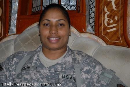 Chaplain Assistant Sgt. Maj. Monica J. Dixon, an Ashville, N.C. native, Multi-National Corps-Iraq chaplain sergeant major, is the first female chaplain assistant to achieve jumpmaster status.  Photo Credit: Mar 11, 2008