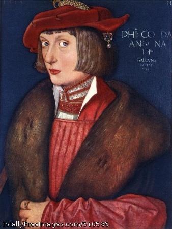 Count Philip 1517; Wood, 41 x 31 cm; Alte Pinakothek, Munich