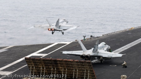 110704-N-GL340-058 ARABIAN SEA (July 4, 2011) An F/A-18E Super Hornet assigned to the Argonauts of Strike Fighter Squadron (VFA) 147 prepares to launch from the aircraft carrier USS Ronald Reagan (CVN 76). Ronald Reagan and Carrier Air Wing (CVW) 14 are deployed to the U.S. 5th Fleet area of responsibility conducting close-air support missions as part of Operation Enduring Freedom. (U.S. Navy photo by Mass Communication Specialist Seaman Michael Feddersen/Released)
