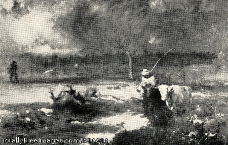 Homeward Artist: Inness, George, 1825-1894, painter. Medium: Oil on canvas. Smithsonian Control Number: IAP 35680210