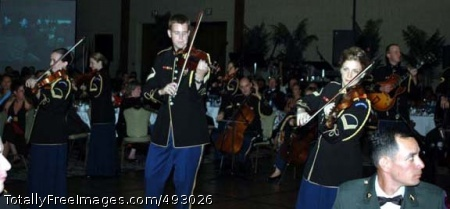 USARPAC Army Ball - The U.S. Army Band's Strolling Strings entertain attendees during the U.S. Army, Pacific Army Birthday Ball on June 9, 2007 at the Hilton Hawaiian Village's Tapa Ballroom in Honolulu. Photo Credit: Jun 14, 2007