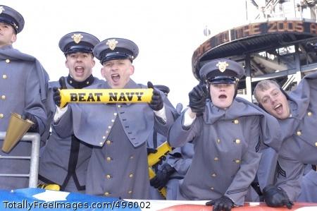 Go Army! Go Army! Photo Credit: Nov 28, 2006
