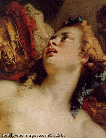 Tarquin and Lucretia (detail)