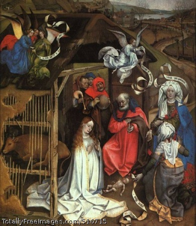The Nativity 1425 (60 Kb); Musée des Beaux-Arts at Dijon