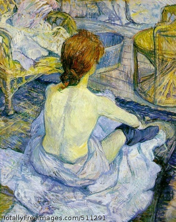 The Toilette 1896; 67 x 54 cm; Musée D'Orsay, Paris