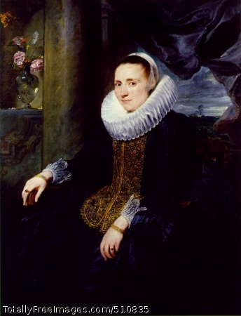 Margareta Snyders c. 1620; Oil on canvas, 130.7 x 99.3 cm; Frick Collection, New York