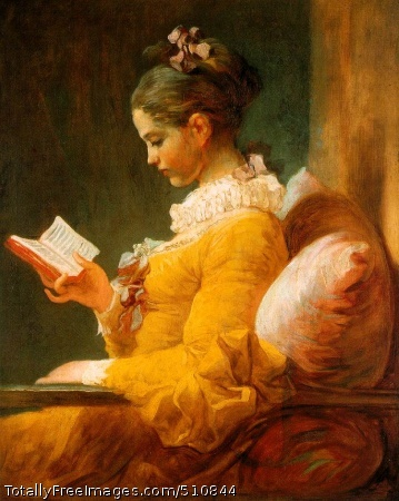 The Reader c. 1770-72; Oil on canvas, 82 x 65 cm; National Gallery of Art, Washington, DC
