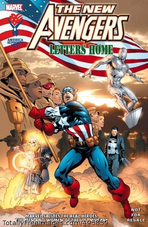 America Supports Marvel Comics and the Army Air Force Exchange Service have joined forces to bring servicemembers around the world the fourth installment in the 'The New Avengers' military-only comic book series. 'The New Avengers: Letters Home' is scheduled to arrive in U.S. exchanges around Dec. 20 and overseas, including 53 facilities throughout operations Enduring Freedom and Iraqi Freedom, shortly thereafter.  Photo Credit: Dec 7, 2006
