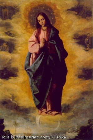 The Immaculate Conception Oil on canvas, 139 x 104 cm; Museo del Prado, Madrid