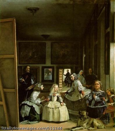 Las Meninas (Maids of Honor) 1656-57 (120 Kb); Museo del Prado, Madrid