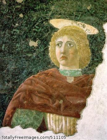 St. Julian c. 1470 (240 Kb); Fresco, 130 x 105 cm; Museo Civico, Sansepolcro