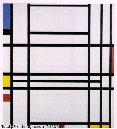 Composition No. 10 1939-42; Oil on canvas, 80 x 73 cm; Private collection