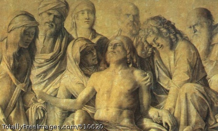 The Lamentation over the Body of Christ 1500 (60 kB); Tempera on wood, Uffizi