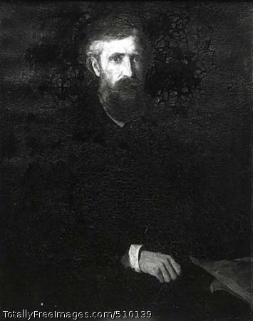 Charles Dudley Warner Artist: Duveneck, Frank, 1848-1919, painter. Medium: Oil on canvas. Smithsonian Control Number: IAP 06910278
