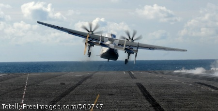 110516-N-OY799-526  PACIFIC OCEAN (May 16, 2011) A C-2A Greyhound from the Providers of Fleet Logistics Support Squadron (VRC) 30 launches from the Nimitz-class aircraft carrier USS John C. Stennis (CVN 74). The John C. Stennis Carrier Strike Group is participating in a composite training unit exercise off the coast of Southern California. (U.S. Navy photo by Mass Communication Specialist 3rd Class Kenneth Abbate/Released)