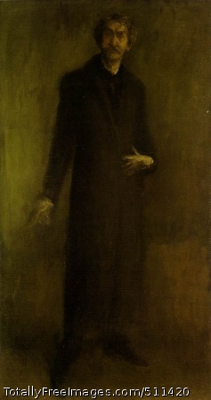 Brown and Gold 1895-1900; Oil on canvas, 95.8 x 51.5 cm; Hunterian Art Gallery, University of Glasgow