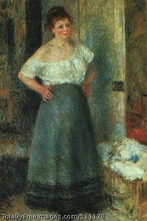 The Laundress 1880 (40 Kb); Art Institute of Chicago