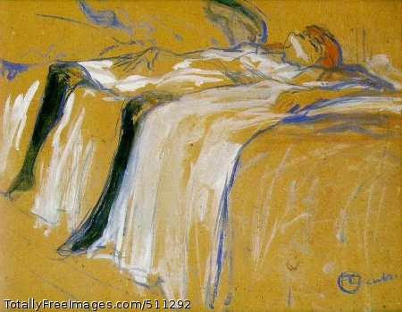 Alone 1896; Oil on board, 31 x 40 cm; Musée D'Orsay, Paris