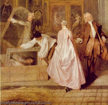 Gersaint's Shopsign (detail)