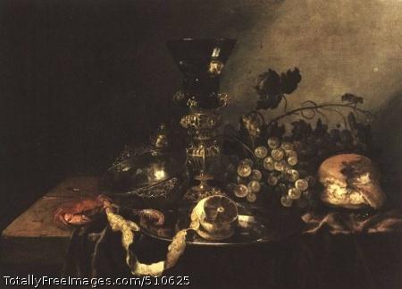 Still-Life with Fruit Oil on panel; Pinakothek, Munich