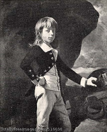 Midshipman Augustus Brine (1770-1840) Portrait of a young Augustus Brine, the son of Admiral James Brine of Dorset, at the age of thirteen, when he was appointed midshipman in the Royal Navy. In the background there is a cliff at the edge of the sea, with a ship sailing away in the background. Artist: Copley, John Singleton, 1738-1815, painter. Medium: Oil on canvas. Smithsonian Control Number: IAP 36120035