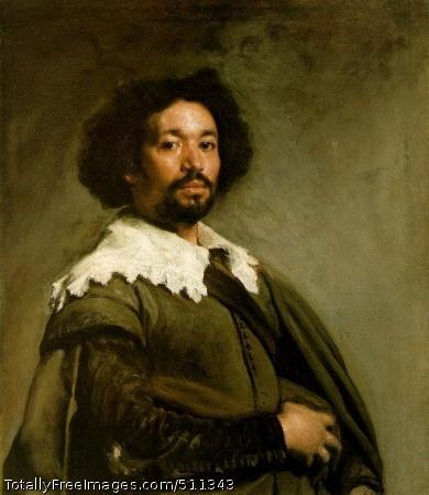 Juan de Pareja 1650 (130 Kb); Oil on canvas, 81.3 x 69.9 cm (32 x 27 1/2 in); The Metropolitan Museum of Art, New York