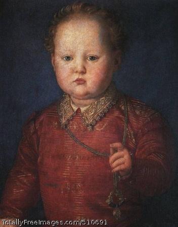 Don Garcia de' Medici 1550; Oil on panel; Prado