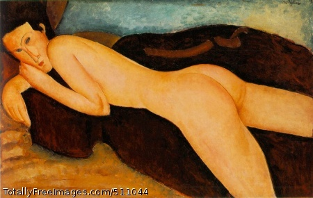 Nu couché de dos (Reclining Nude from the Back) 1917 (100 Kb); Oil on canvas, 64.5 x 99.5 cm (25 3/8 x 39 1/8 in); Barnes Foundation, Merion, PA
