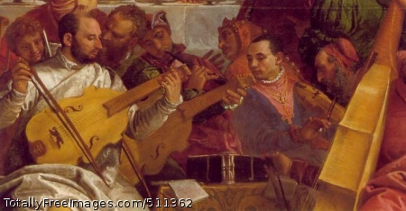 The Marriage at Cana (detail of Musicians)