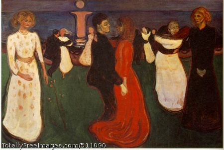 The Dance of Life 1899-1900 (120 Kb); Oil on canvas, 49 1/2 x 75 in; National Gallery, Oslo