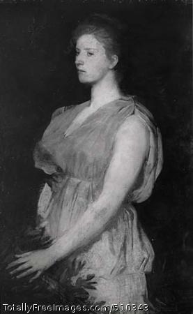 Diana Artist: Thayer, Abbott Handerson, 1849-1921, painter. Medium: Oil on canvas. Smithsonian Control Number: IAP 08350072