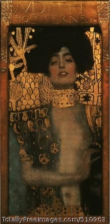 Judith I 1901 (80 Kb); Osterreichische Galerie, Vienna