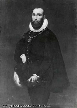 Worthington Whittredge (1820-1910) Portrait of painter Worthington Whittredge dressed in a seventeenth-century costume. Artist: Leutze, Emanuel Gottlieb, 1816-1868, painter. Medium: Oil on canvas. Smithsonian Control Number: IAP 36120526