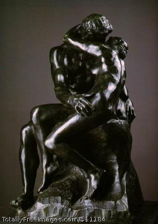 The Kiss 1886 (100 Kb); Bronze, 87 x 51 x 55 cm; Musee Rodin, Paris
