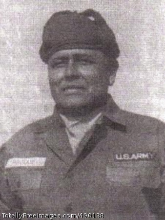 First Sergeant First Sergeant Pascal Cleatus Poolaw, Sr. served this country through three wars, and gave up his life in Vietnam. Photo Credit: Nov 1, 2007